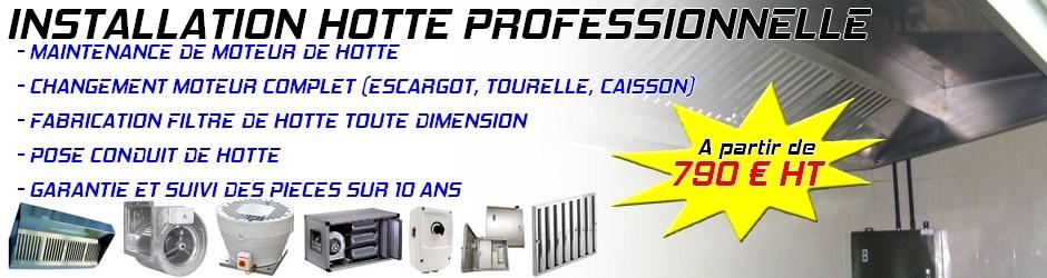Installation De Hotte De Cuisine Professionnelle Montpellier | Hygis